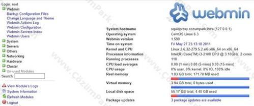 squid proxy server configuration linux pdf
