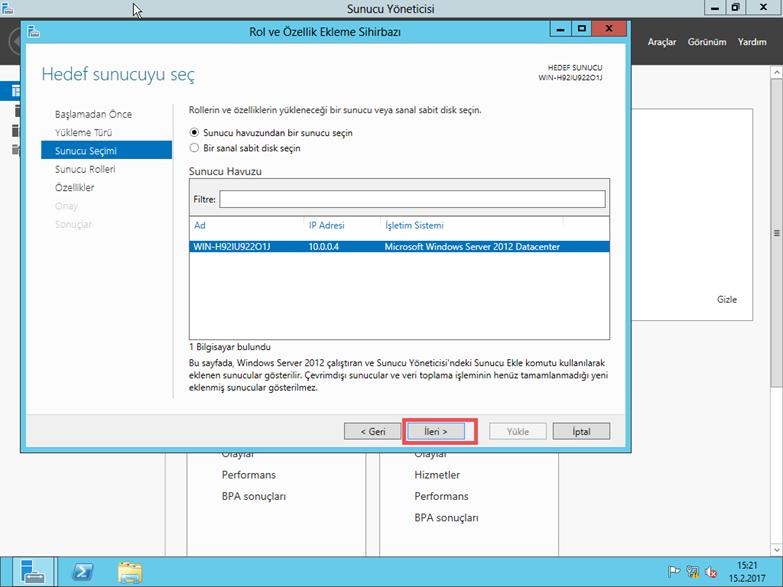 Windows 2012 ile IIS 8 DNS Sunucu Kurulumu ve Web Sitesi