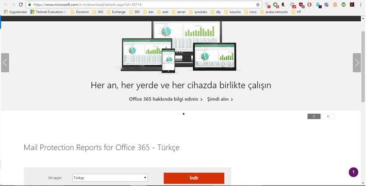 Ofis 365 Raporlama - ÇözümPark