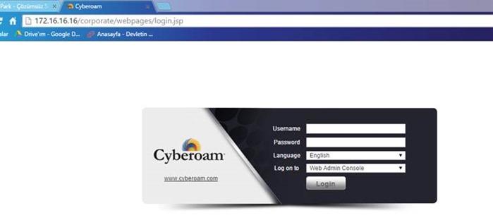 Cyberoam Firewall ve UTM Ürününün Sanal Platformda Kurulması