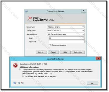 how to change windows authentication to sql server authentication 2012
