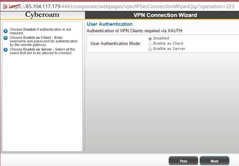 Cyberoam VPN Kurulumu – IPSec – SSL VPN – L2TP Cisco VPN - ÇözümPark
