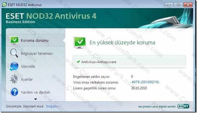 Eset Nod32 Antivirüs 4 Kurulum Ve Ayarları Bölüm 1.
