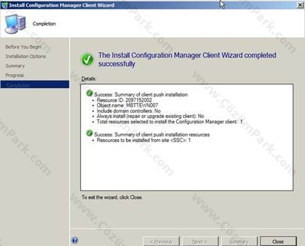Deploy Sccm Client Manually