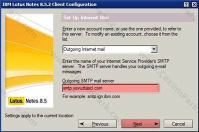 how to change replication server in lotus notes