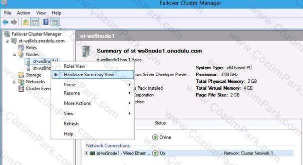 windows server windows server 2012 failover clustering