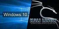 Windows 10 Üzerinde Kali Linux Kullanımı