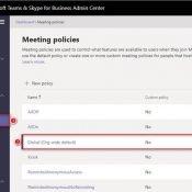 Microsoft Teams Admin Center İlk Dokunuş – Bölüm 3