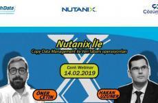 Web Semineri – Nutanix Copy Data Management ile Veri Tabanı operasyonları – 14 Şubat