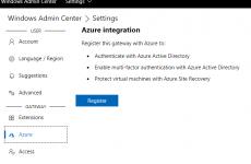 Windows Admin Center Üzerinden Azure Backup Yapılandırılması