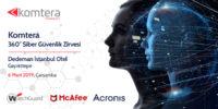 Komtera 360 Siber Güvenlik Zirvesi – 6 Mart Çarşamba