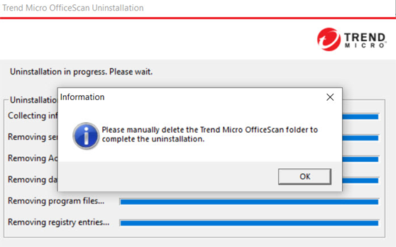 Trend Micro Office Scan Agent Uninstall, Unload ve Unlock Password