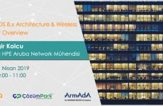 Web Semineri – Aruba OS 8.X Architecture & Wireless Product Overview – 11 Nisan Perşembe Saat 10:00