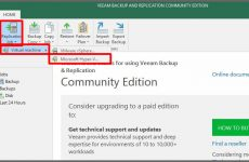 Veeam Backup & Replication 9.5 Sanal Makina Replikasyonu – Bölüm8
