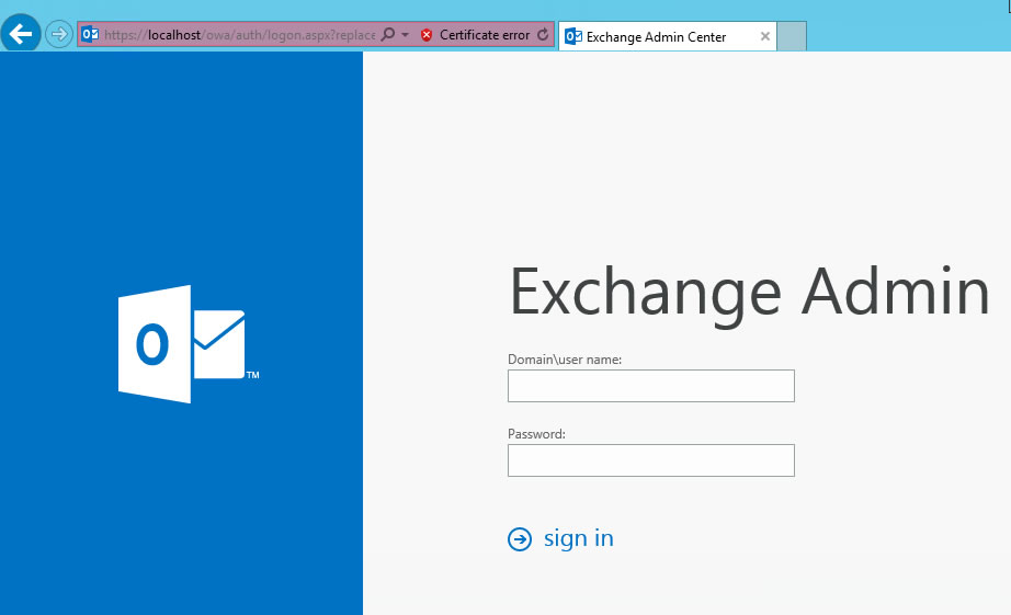 Exchange 2013&2016 EAP&OWA Bağlantı Sonrası Boş Sayfa Sorununu  Düzeltme