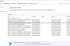 Uninstall butonu olmayan Windows güncellemelerinin kaldırılması