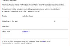 Trendmicro OfficeScan Lisanslama Türleri
