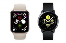 Apple Watch Series 4'e Karşı Galaxy Watch Active