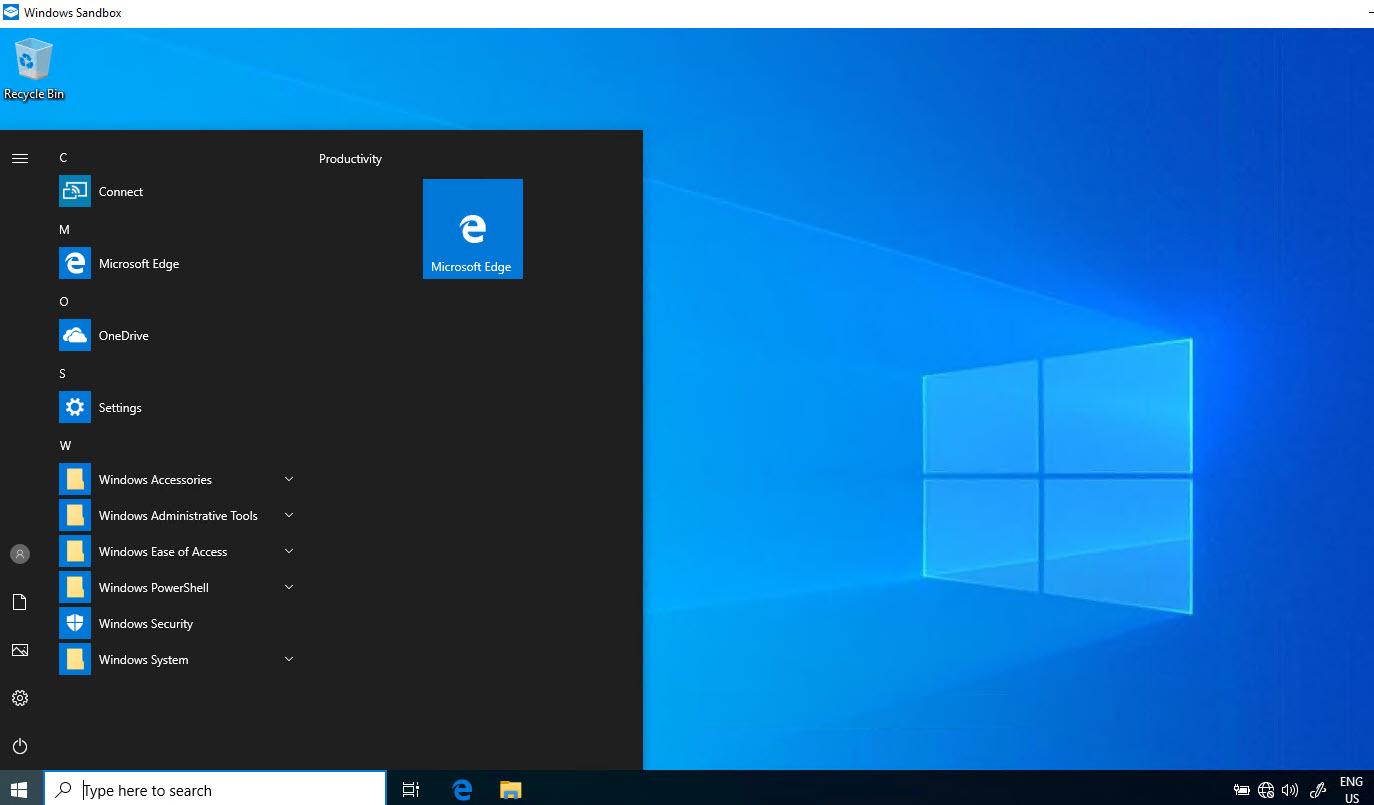 Windows 10 Sandbox Özelliği Nedir? Nasıl Aktif Edilir?