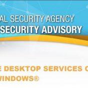 NSA' den RDS – RDP için uyarı.