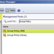 System Center Operation Manager Dependent Management Pack