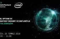 Web Semineri – HPE Platformlari & Intel Optane DC Persistent Memory ve SSD' leriyle Dijital Dönüsüm – 25 Temmuz Persembe Saat 10:00