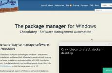Chocolatey ile Yazılım Yönetimi Otomasyonu