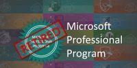 Microsoft Professional Programı 31 Aralıkta Kapanıyor