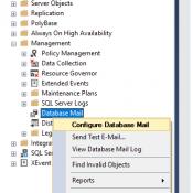 Sql Server SMS ve Mail Gönderimi SP-Trigger