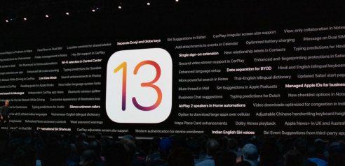 IOS 13 Güncelleme Yüklemek için hazır