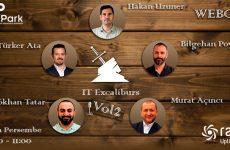 Webcast – ÇözümPark IT Excalibur Vol2 – 24 Ekim Perşembe Saat 10:00