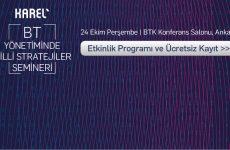 BT Profesyonelleri Ankara'da BT Yönetiminde Milli Stratejiler Seminerinde Buluşuyor
