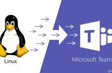 Teams için Linux Client Yolda