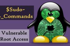 Linux'ta Zafiyet  SUDO !!