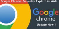 Chrome'da Zero-Day (Sıfırıncı Günlük) Acil Güncelleme!