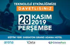 VData, Arena ve ÇözümPark Teknoloji Etkinlikleri –  Adana