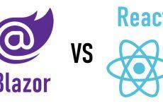 ASP .NET Core Blazor ve React  Arasındaki Farklılıklar