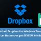 Dropbox'daki Sıfır Günlük Açığına ( Zero-Day ) Geçici Çözüm