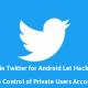 Twitter'dan Güvenlik Duyurusu