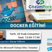 Ücretsiz Eğitim – Docker' a Giriş – Uygulamalı Eğitim – 25 Ocak Cumartesi Saat 13:00
