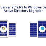 Windows Server 2012 R2'den Windows Server 2019'a Active Directory Migration