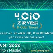 4.CIO Zirvesi & CIO Ödül Töreni