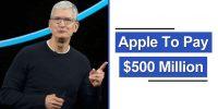 Apple Eski iPhone'lar İçin 500 Milyon Dolar Ödemeyi Kabul Etti
