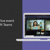 Microsoft Teams ile Canlı Etkinlik