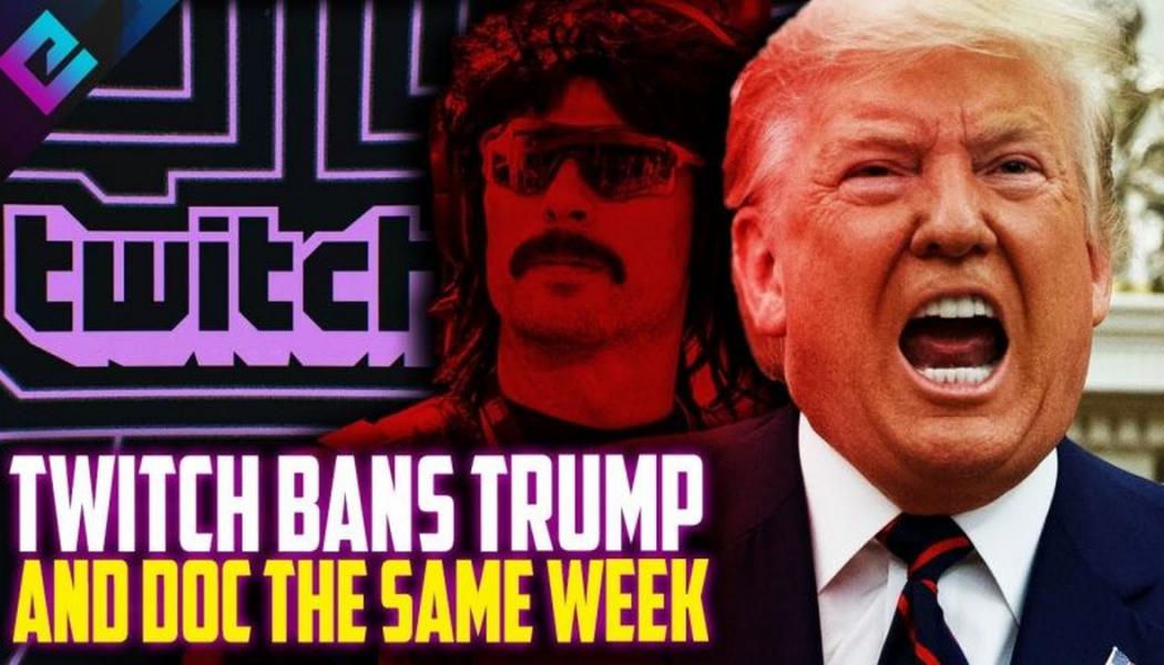 Twitch, ABD Başkanı Trump'ı Geçici Olarak Engelledi