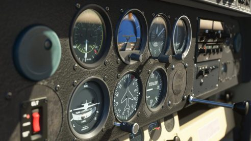 sanal uçuş simulatoru
