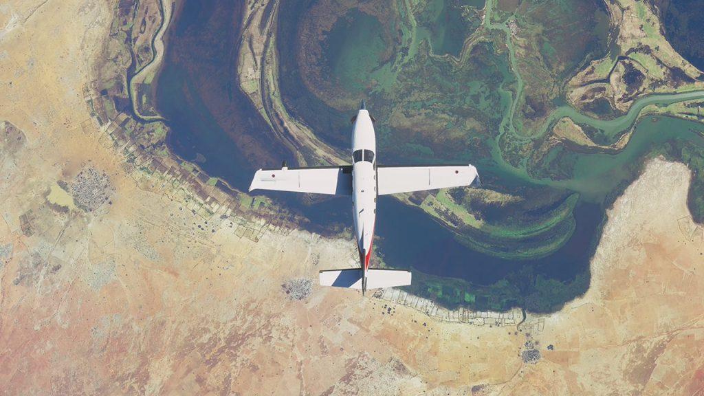 microsoft flight simulator yayinlandi