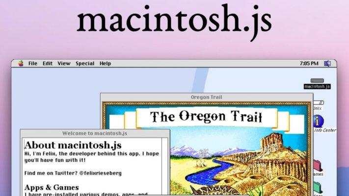 MacOS 8 Windows ve Linux için Emülatör Olarak Yayında