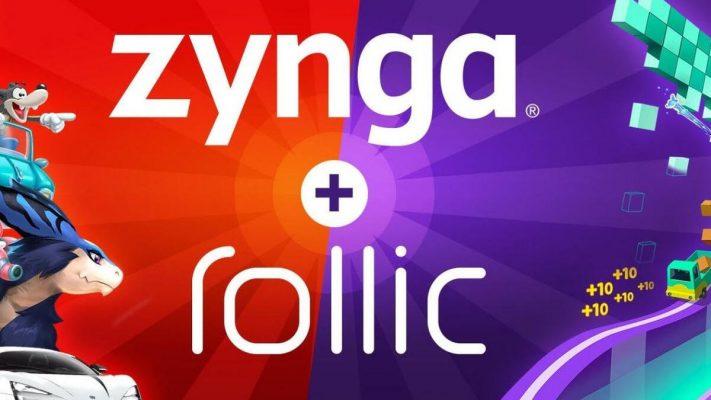 Zynga Yerli Oyun Şirketi Rollic'in %80 Hissesini 168 Milyon Dolara Satın Alıyor