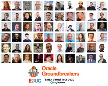 Oracle Groundbreakers EMEA Virtual Tour